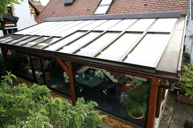 Hervorragend Dachrollläden für Wintergärten und Glasdächer - Zwick Rolladen YP91